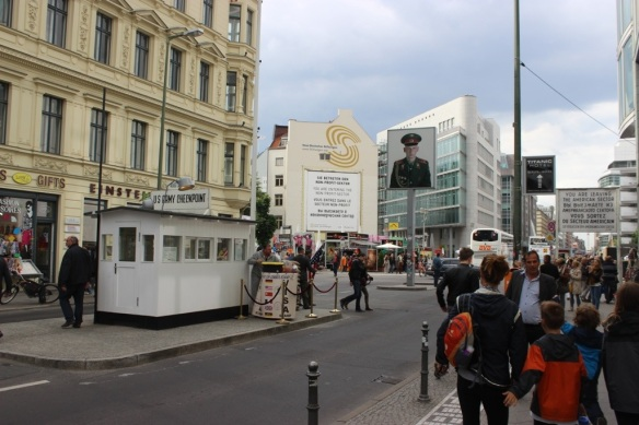 Checkpoint Charlie- then and now | marschmadness